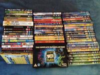 Huge Children Kids 65 DVD bulk job lot