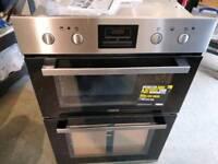 Zanussi ZOD35802xk built in double oven brand new