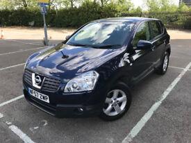 2007 (07) Nissan Qashqai 2.0 Acenta Hatchback 5dr Petrol CVT 4WD 6 Months Warranty Included