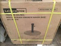 Parasol Base, New, Boxed, 15 kgs.