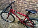 """Red Carrera Subway Bike 18"""" - Excellent Condition (Hardly Used)"""