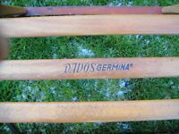 Sledge wood frame/ steel runners