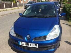 Ideal first time Car Renault Clio 1.1 petrol
