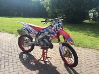 Cr 125 motocross yz cr crf ktm kx tm rmz