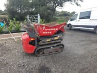 2013 messersi TCH07D 500kg track dumper (digger tractor van trailer)