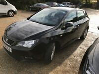 Seat Ibiza 1.2 TSI Auto (DSG) 7 Speed. FSH, MOT, E/W, A/C, ISOFIX, ABS, ALLOYS.