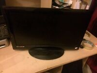 "**XBOX 360 w/ games & 18.5"" LCD TV w/ DVD player"
