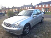 MERCEDES BENZ C180 AUTOMATIC 2003 AVANTGARDE SE HPI CLEAR - NOT BMW GOLF VECTRA OR AUDI OPEL