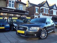 Audi A8 4.2 TDI Sport Quattro 4dr FINANCE AVAILABLE!! p/x welcome Full Service History, Long MOT