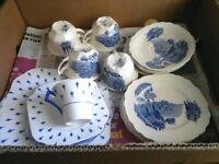 Joblot of Myott & Colclough Cups, saucers & plates