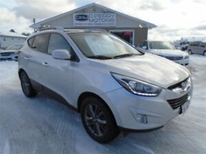 2014 Hyundai Tucson GLS FWD Heated Leather Panoramic Roof