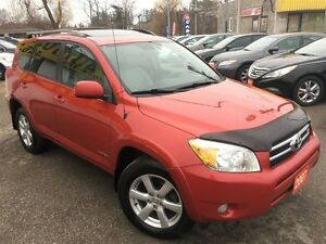 2007 Toyota RAV4 Limited/AWD/LEATHER/ROOF/LOADED/ALOYS