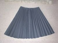 Ladies Plain Pleated Skirt