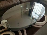For Sale Home furnishings in Black Glass & Chrome