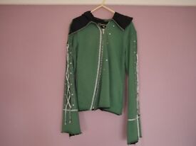 Womens Zipper Psylo Hoodie in Size Small