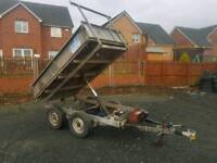 Ifor williams 8x5 electric tipping trailer new brake cables fitted