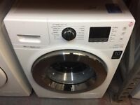 SAMSUNG 9KG ECOBUBBLE WHITE WASHING MACHINE
