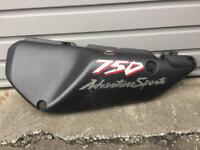 Honda Africa Twin XRV750 RD07A Left Hand Seat Panel