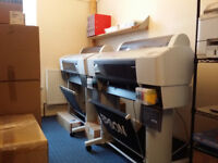 2x large format printers Epson 7800 and Epson 7880