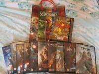 MARVEL BUNDLE!!!! DVDs, Notebook, Bag