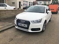 White Audi A1 1.4 Sport