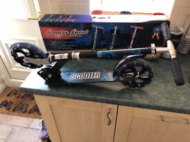Sports scooter - brand new. Suit adult or child