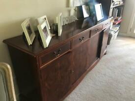 Mahogany sideboard 6ft