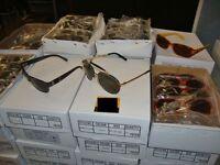 500 assorted pairs of sunglasses