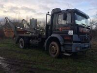 Mercedes skip truck for sale