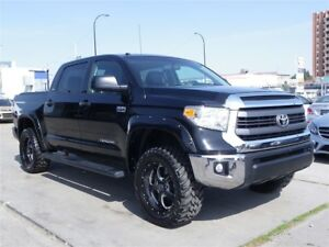 2015 Toyota Tundra SR5 5.7L V8 4X4|LIFTED|LEATHER|ROOF|20-INCH W