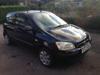 Hyundai Getz 1.1 GSI 3dr for sale with long MOT