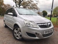 Vauxhall Zafira 1.9 CDTi Exclusiv 7 Seater