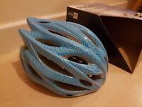 Bike helmet – light blue – adult size – USED JUST ONCE!