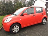 DAIHATSU SIRION 2006 ***MOT AUGUST 2017*** 5 DOOR HATCHBACK*** LOADS OF SPEC***