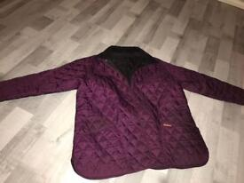 womens quilted barbour jacket