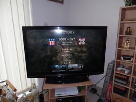 full hd 42'' hitachi tv