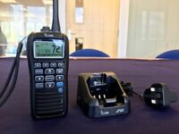 Icom M91D Handheld VHF Marine Radio with DSC, GPS & Distress Button, UK Version