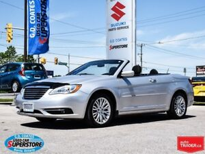 2011 Chrysler 200 Touring Convertible ~Low KM ~Heated Seats