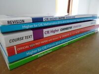 Study Guides/past papers: Higher French, chemistry & maths