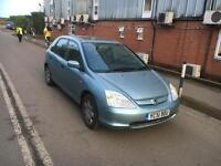 Honda Civic 1.6 Automatic Petrol spares and