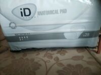 ID ANATOMICAL INCONTINENCE PADS NORMAL