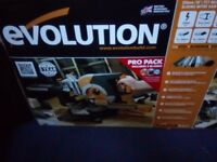 Evolution Mitre Saw New £90
