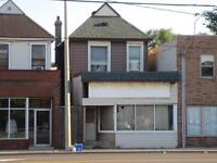 DUPLEX WITH STOREFRONT COMMERCIAL AREA