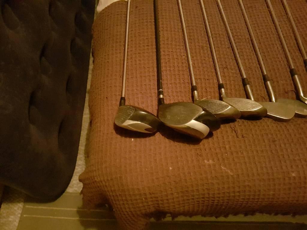 Left handed golf clubs (full set )