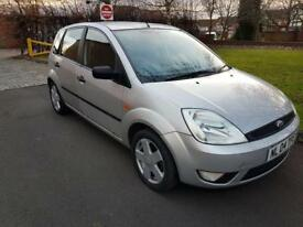 FORD FIESTA 1.4 Flame 5dr (silver) 2004