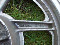 Rear wheel for Honda CB 500