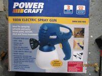 Electric spray gun box never opened.