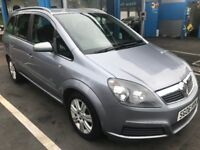 2006 VAUXHALL ZAFIRA ACTIVE 1.6L -5 DOOR HATCHBACK MANUAL PETROL APRIL MOT 18 SERVICE HISTORY