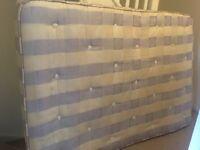 Double mattress (Silentnight) - free