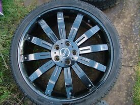 Range Rover Spoked Alloy Wheels